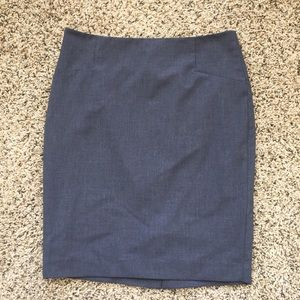 The Limited Gray Pencil Skirt Size 6!